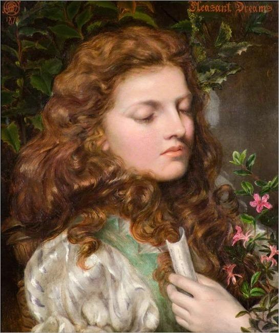 Pleasant Dreams - Emma Sandys (english painter)