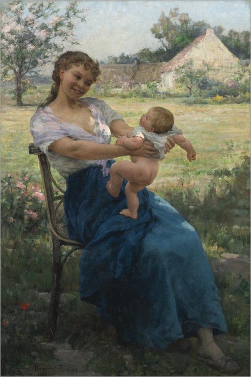 Virginie Elodie Demont-Breton (french, 1859-1935)