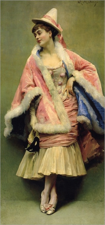 Pierette (Raimundo de Madrazo y Garreta - No dates listed)