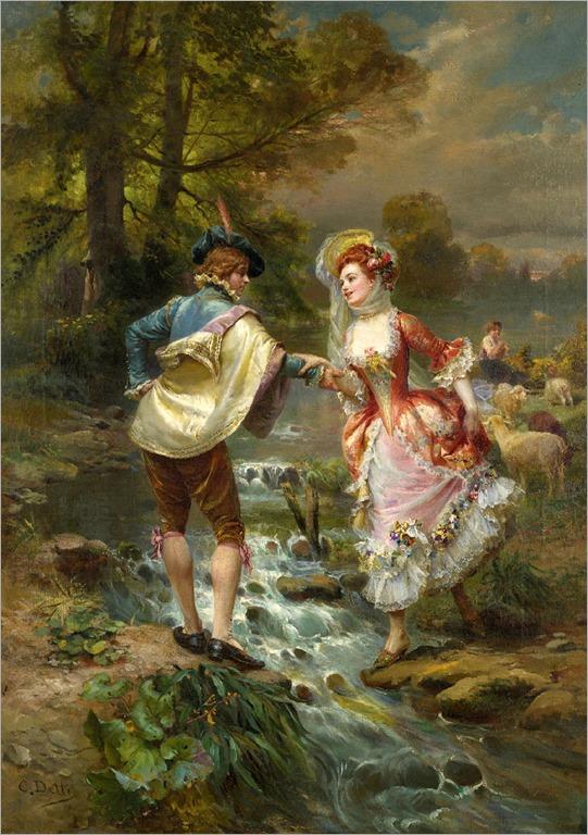 très galant - Cesare Auguste Detti