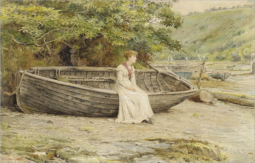 2012_CSK_04753_0179_000(george_goodwin_kilburne_jun_awaiting_the_return_of_the_fleet)