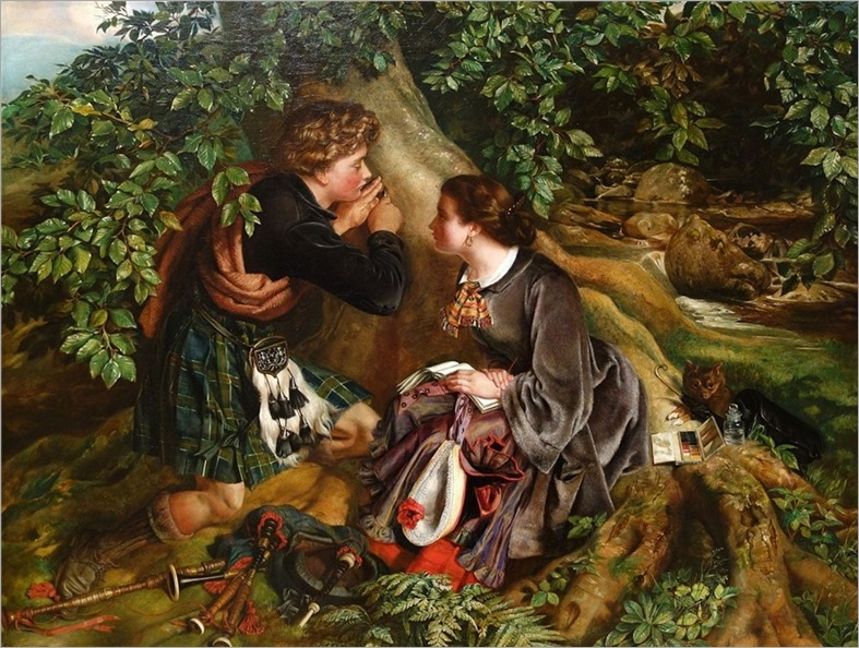 3.Daniel Maclise (1806-1870-irish-british)