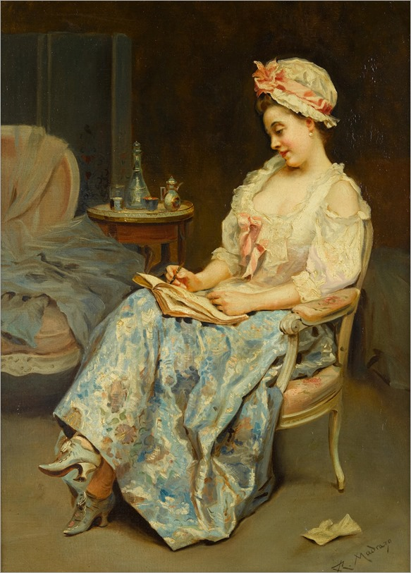 a moment of reflection-raimundo de madrazo-y-garreta