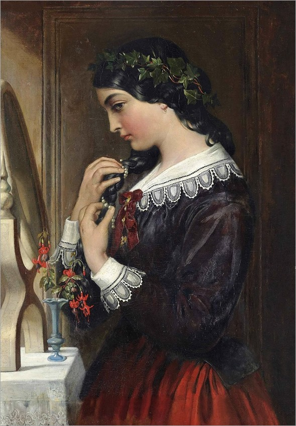 Daniel Maclise (1806-1870-irish-british)