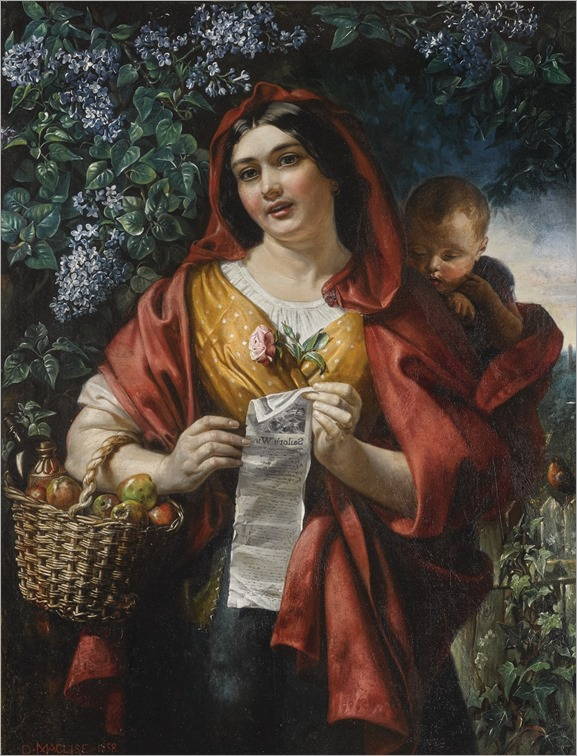 Daniel Maclise (1806-1870,irish-british)