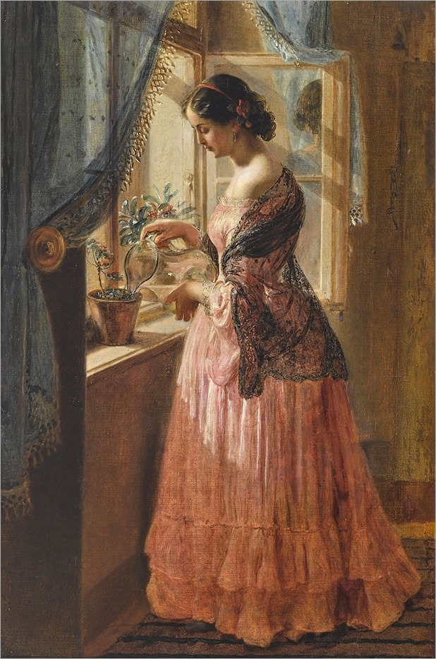 Johann Baptist Reiter (1813-1890) When flowering