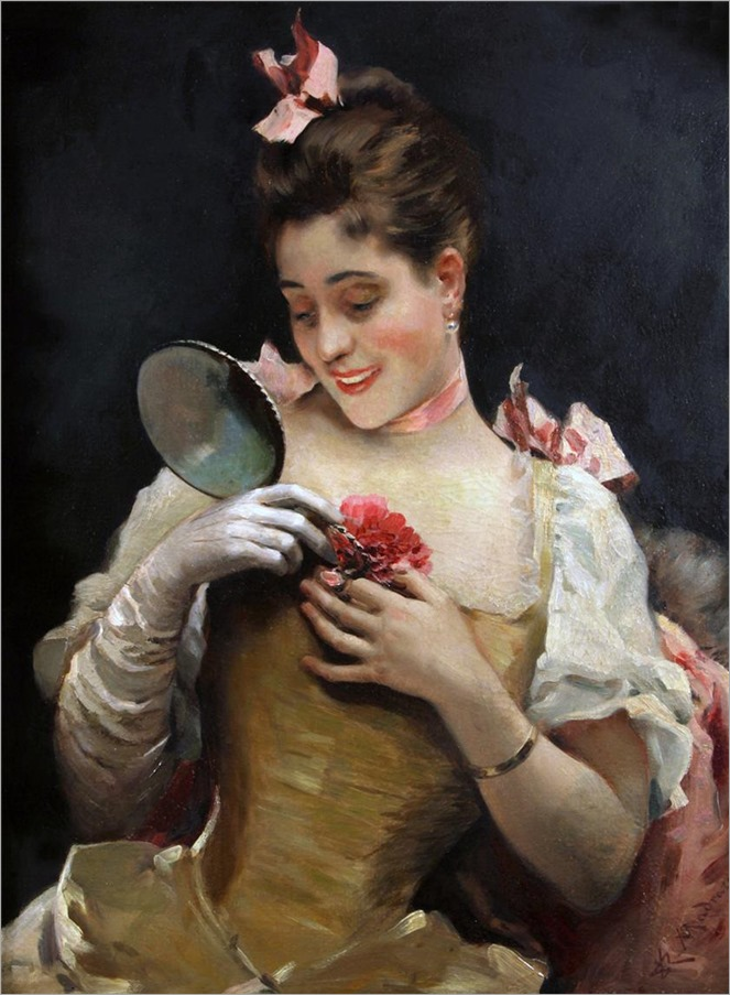 Portrait Of Aline Masson - Raimundo de Madrazo y Garreta