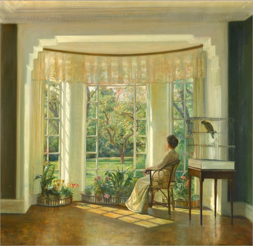 Reflections - Carl Vilhelm Holsoe