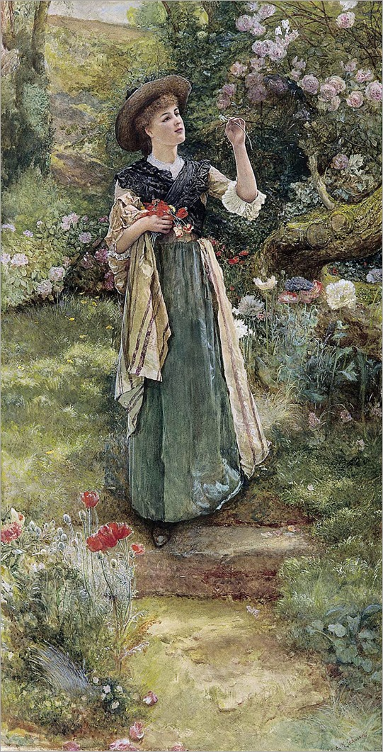 The Dandelion Clock-Edward Killingworth Johnson