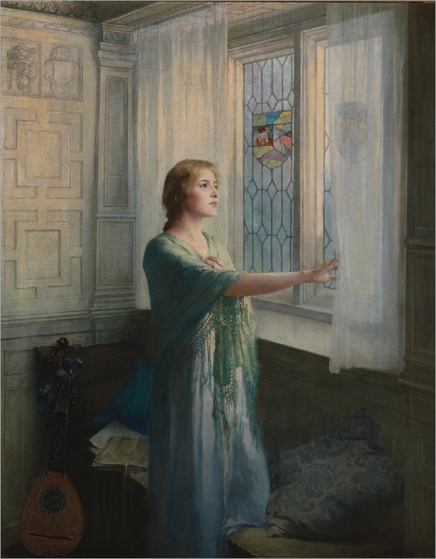 William Ladd Taylor (1854 - 1926) - Awaiting his return