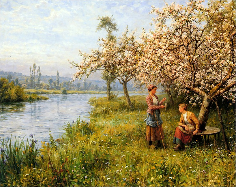 13.Louis Aston Knight (french, 1873-1948)