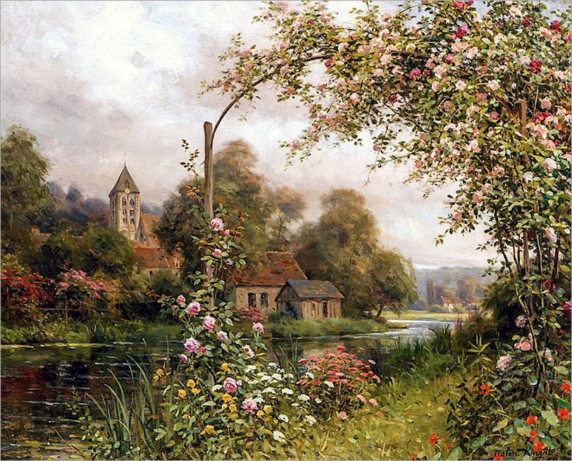 14.Louis Aston Knight (french, 1873-1948)
