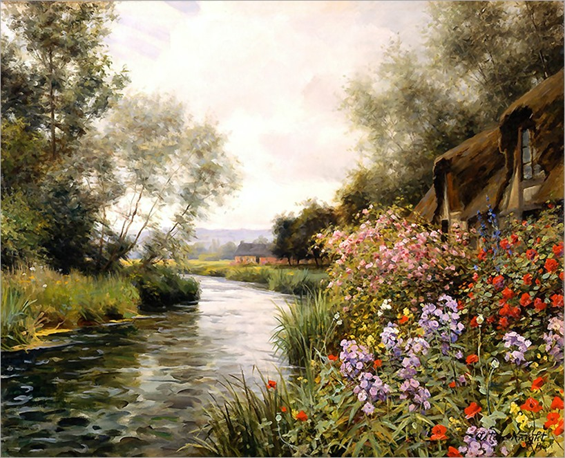 3.Louis Aston Knight (french, 1873-1948)