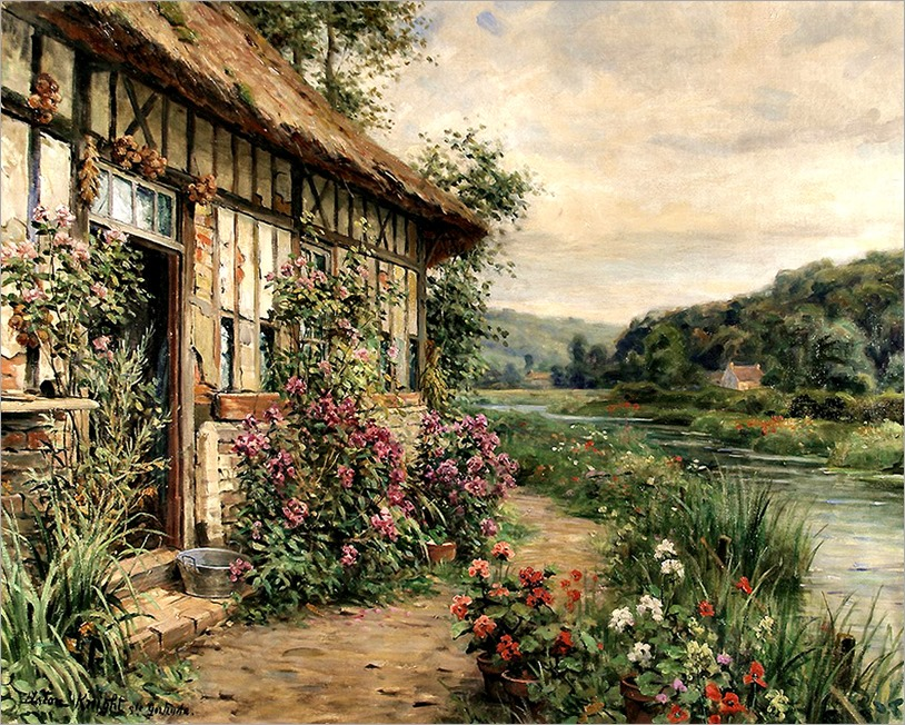 6.Louis Aston Knight (french, 1873-1948)