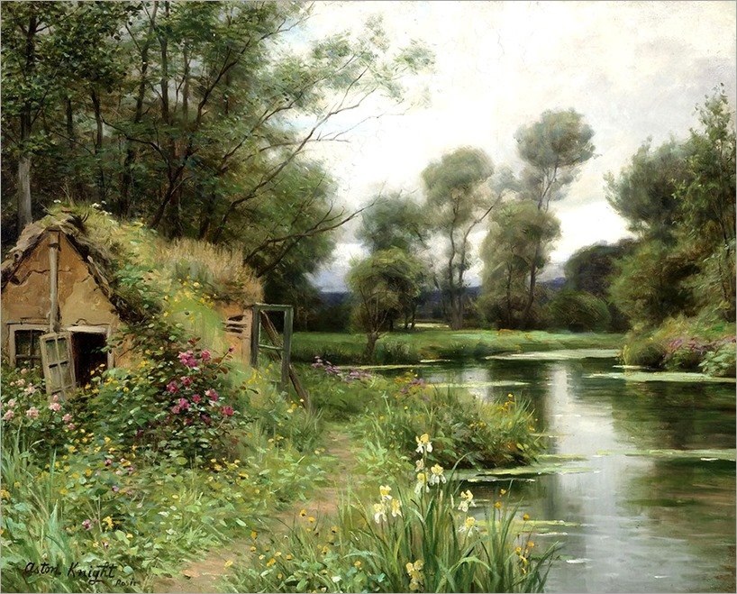 8.Louis Aston Knight (french, 1873-1948)