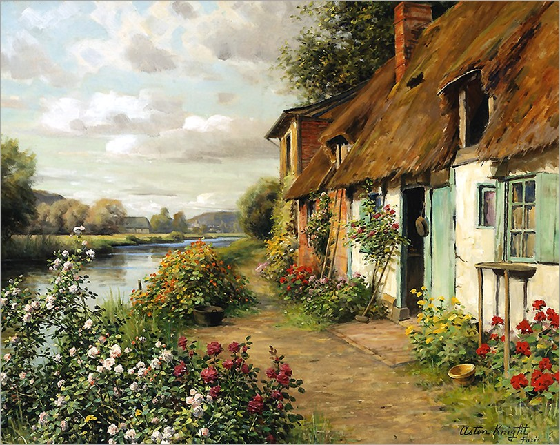 Louis Aston Knight (french, 1873-1948)