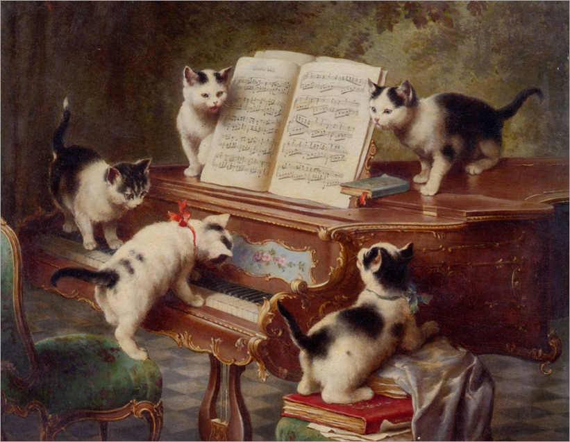 Reichert_Carl_The_Kittens_Recital_1908
