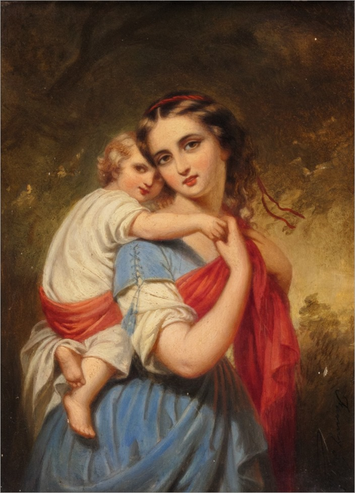fanny geefs-mother and child_2