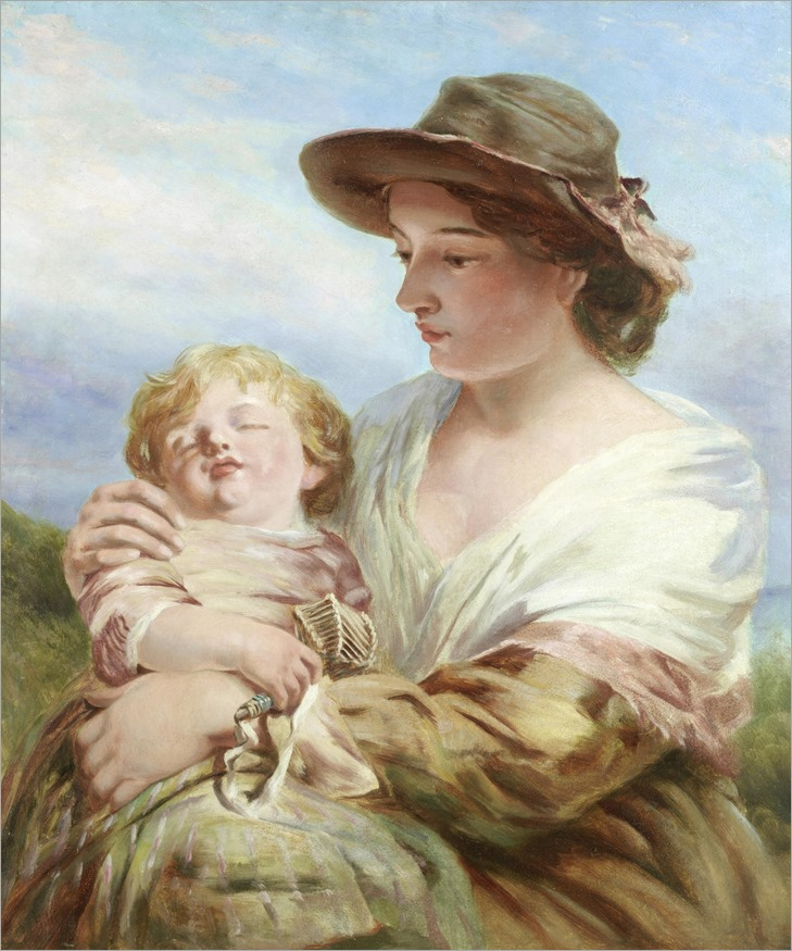 james john hill_mother and child