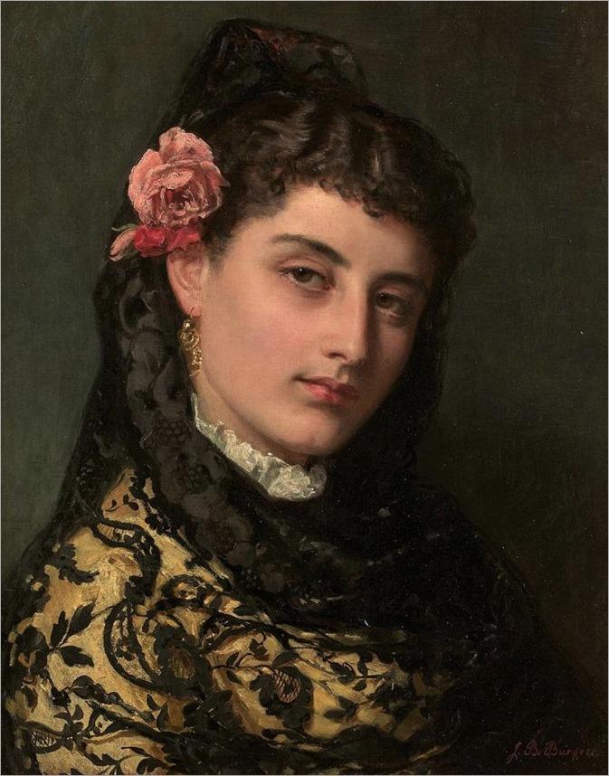 JOHN BAGNOLD BURGESS (Londres 1829-1897)Andalouse