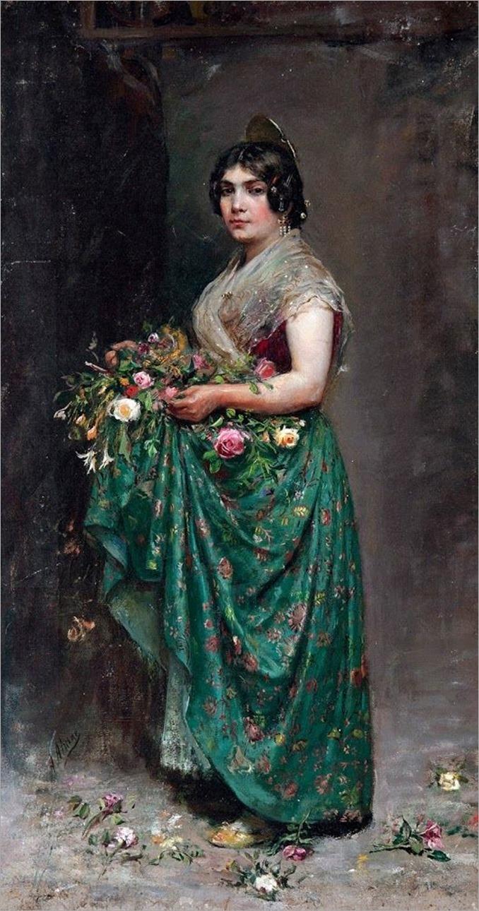 retrato de valenciana-agustín almar