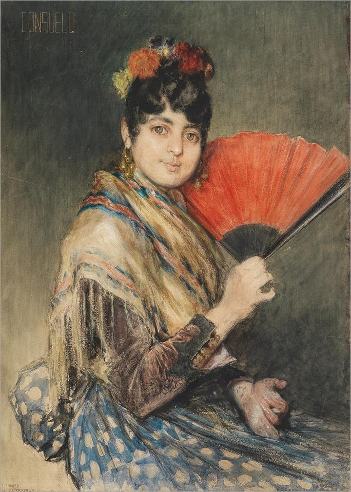 Theodor Josef Ethofer (Wien 1849-1915)-Consuelo
