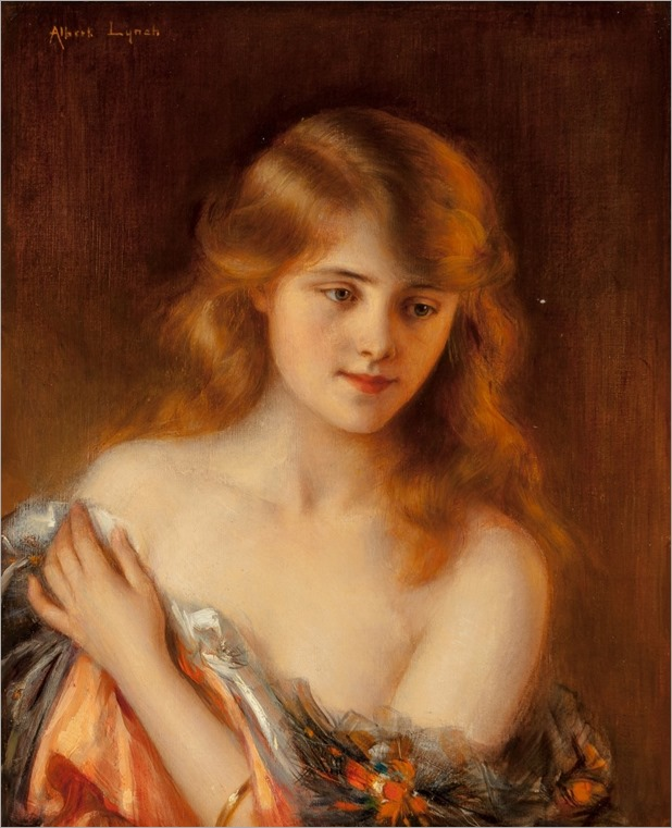 ALBERT LYNCH (FRENCH-PERUVIAN, 1851-1912)_reverie