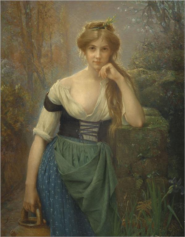 Alfred Guillou (1844-1926) Rêverie
