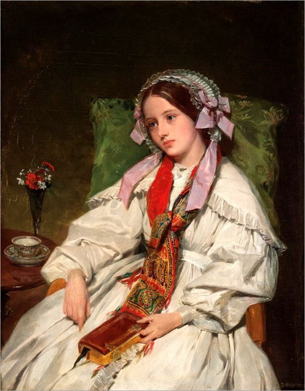 John Bostock-19th century-Reverie