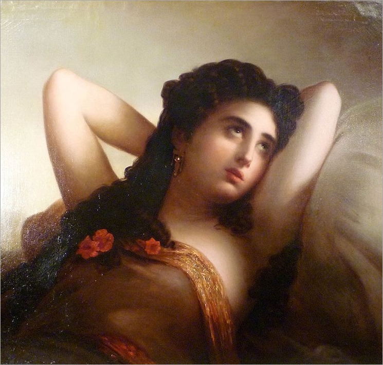 Reverie (c.1850). August Riedel (German, 1799-1883)