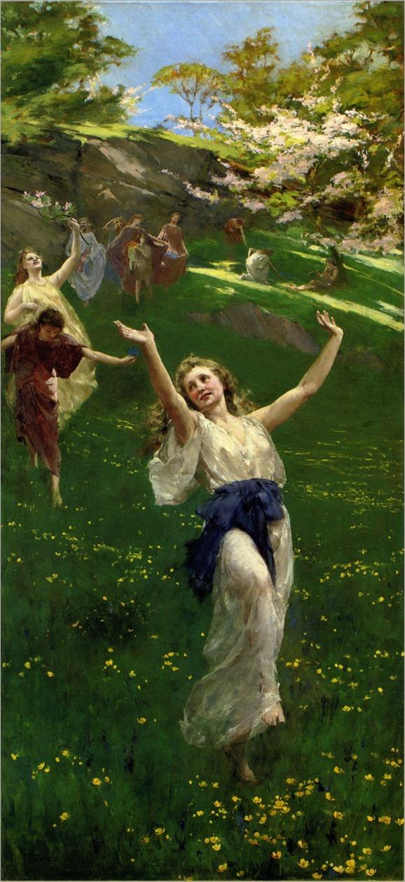spring-John Reinhard Weguelin-1890