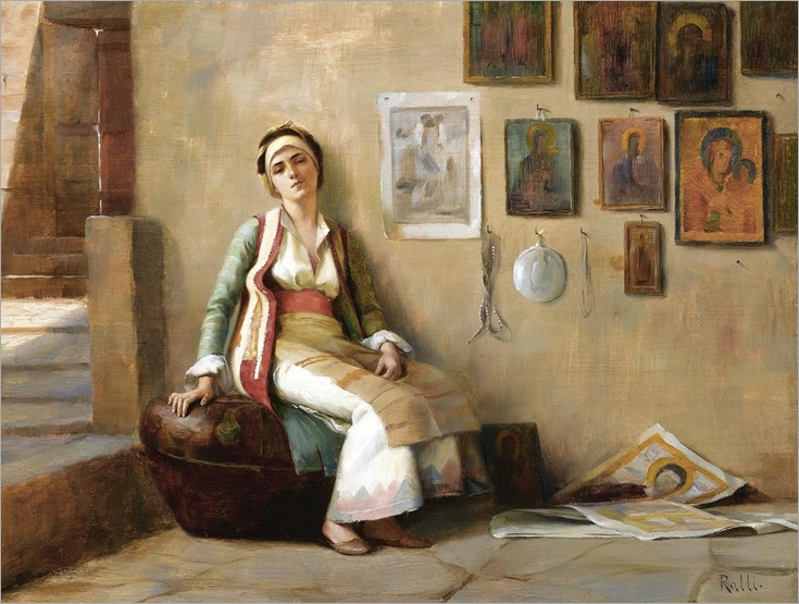a moment´s rest - Theodoros Ralli