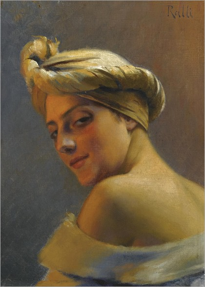 girl-with-turban-theodore jacques ralli (greek, 1852-1909)