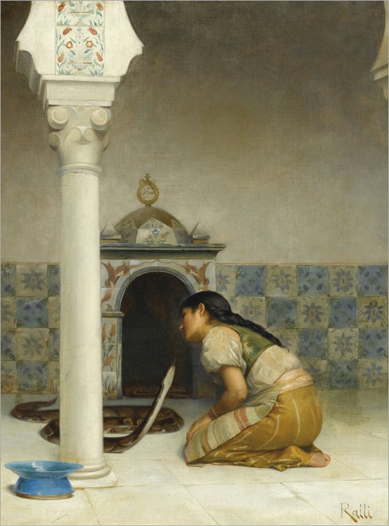 the sacred serpent-Theodoros Ralli