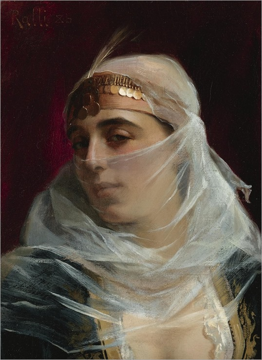 turkish woman-Theodoros Ralli
